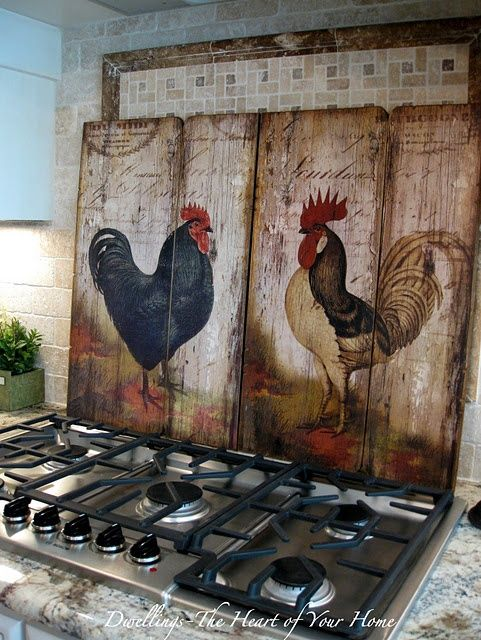 Love These Roosters But I Probably Wouldn T Put Them