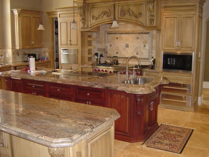 Kitchen Crema Bordeaux Home Pinterest Granite