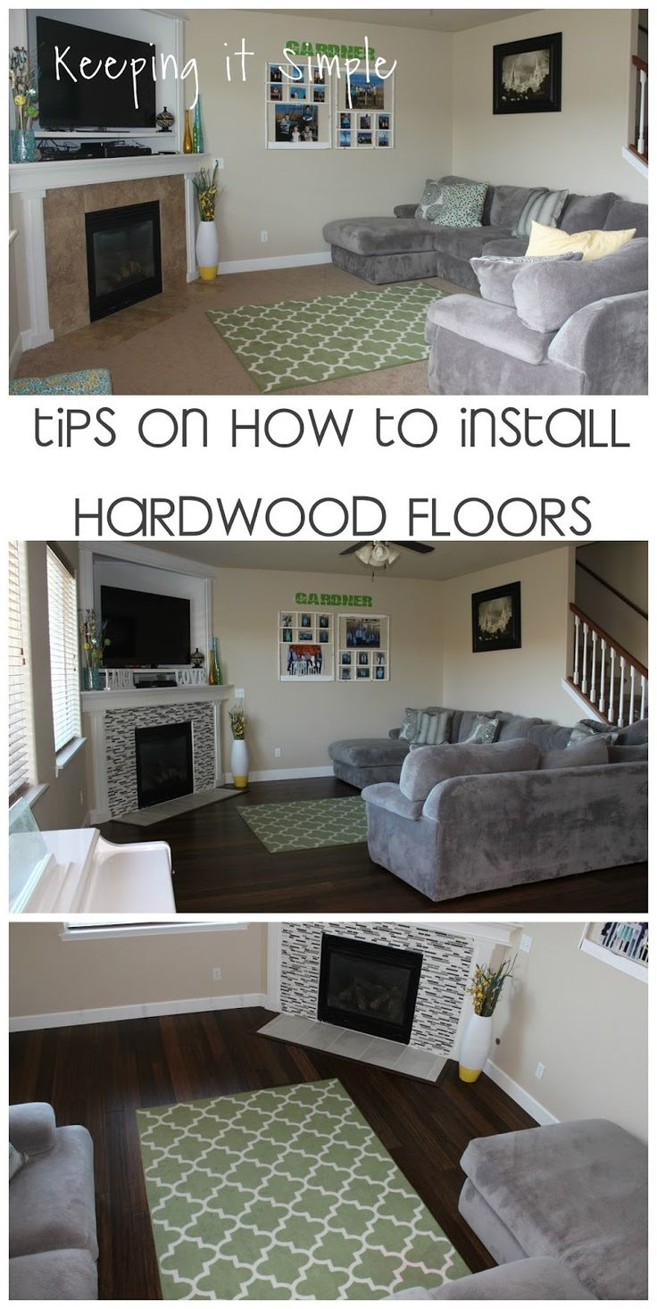 Keeping it Simple Tips on How to Install Hardwood