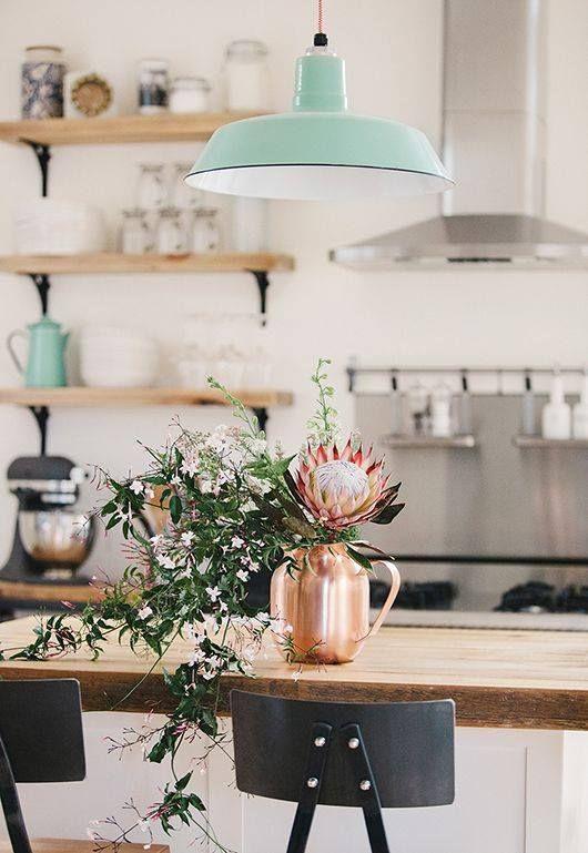 Pretty kitchen: