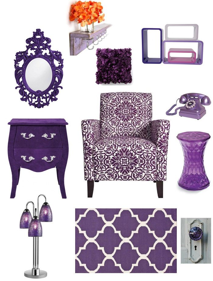Purple Bedroom Inspiration