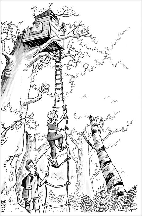 tree house coloring pages jack and annie magic tree house coloring