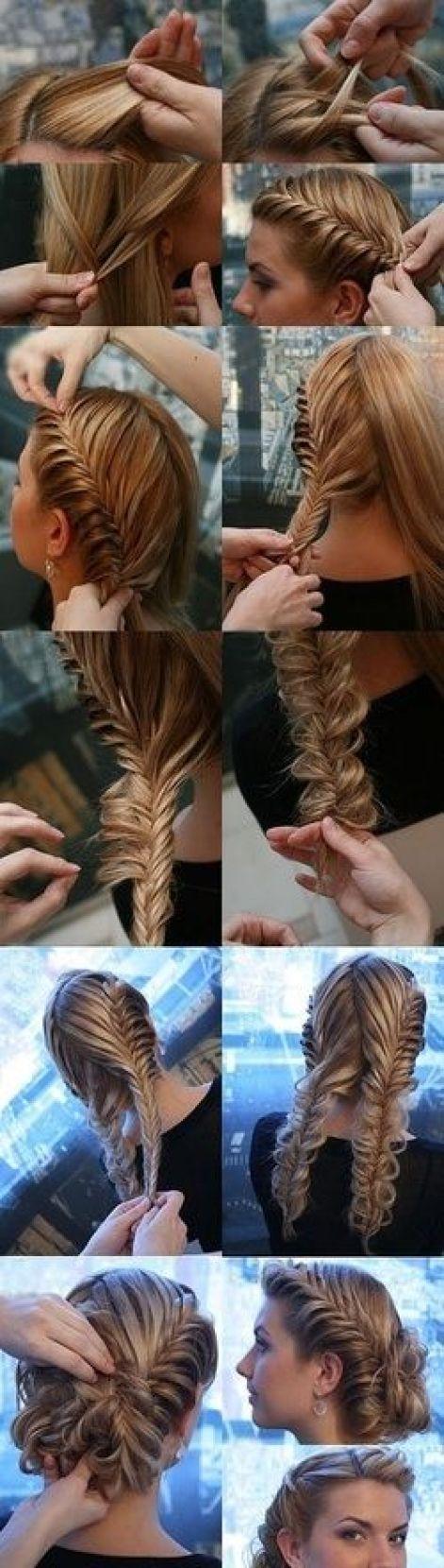 formal hair:
