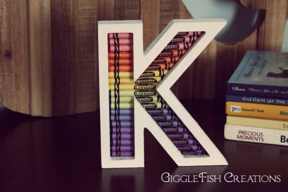 25+ Best Ideas About Wood Letters Decorated On Pinterest