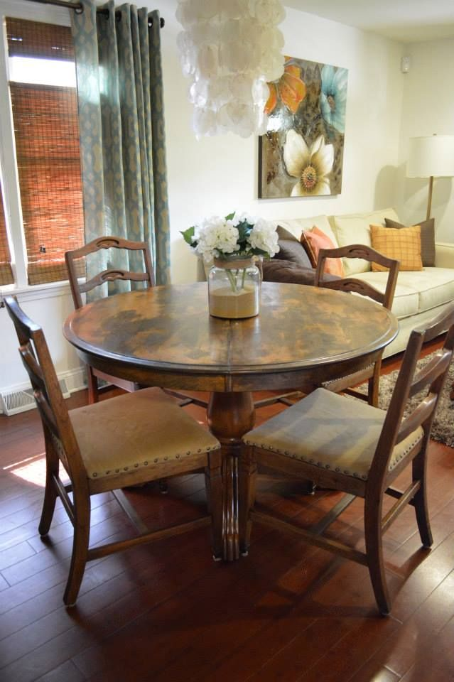 Rustic Dining Room Table Amp Chairs Refurbished By Astral At
