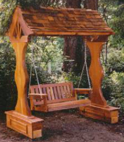 Stromboli Bench Swing Arbor Outdoors Pinterest