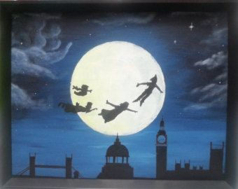 25 Best Ideas About Peter Pan Painting On Pinterest