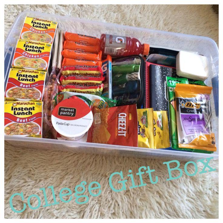 College gift box. Survival