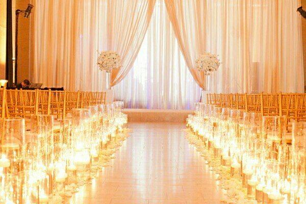 Indoor Wedding Altars