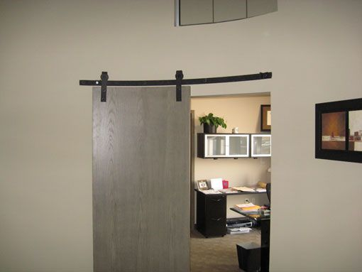 Curved Track Hardware Barn Door Hardware Homes Pinterest Flats Sliding Door Track And We