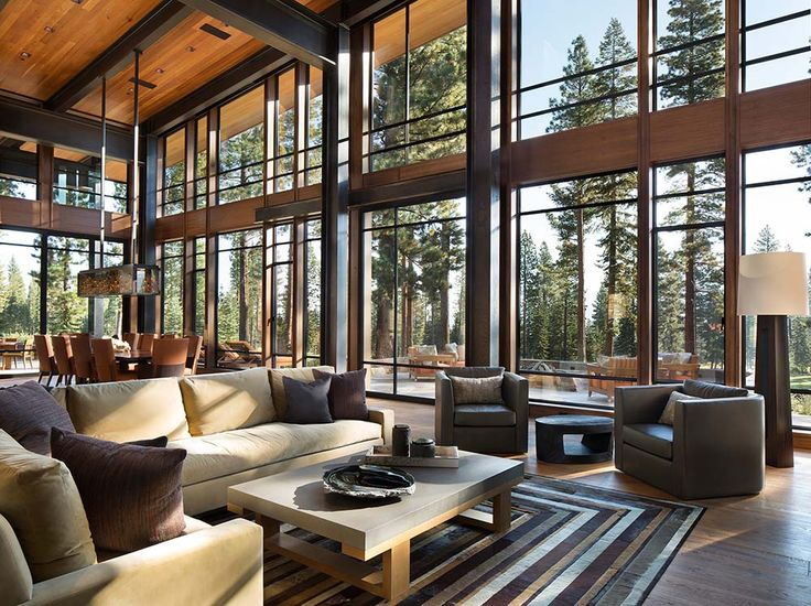 454 Best Images About Architecture: Modern/Rustic Cabins
