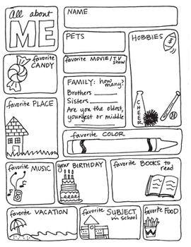 all about me about me and first week on pinterest