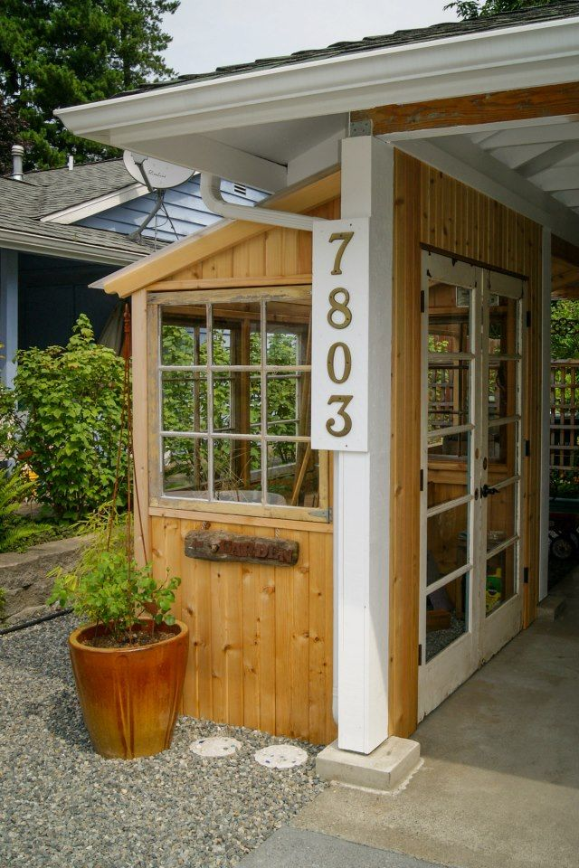 Lean To Greenhouse Shed To Carport Edmonds In Bloom