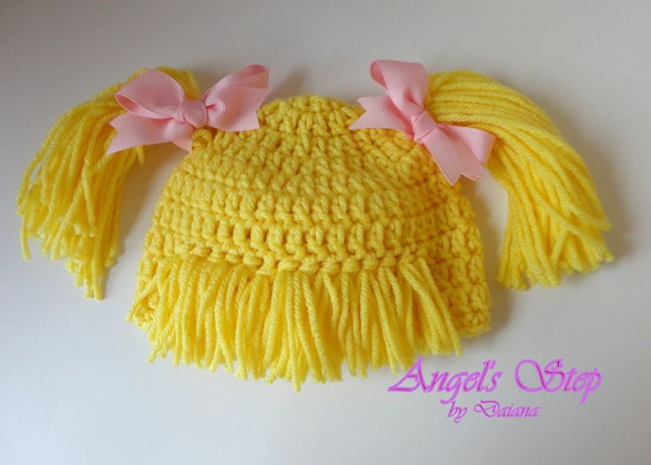 Diy Crochet Cabbage Patch Hat Pattern Poemsrom