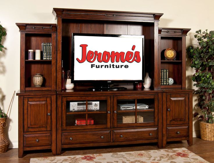 The Vineyard Entertainment Center Has Everything You Need For Your Home Theatre With Ample