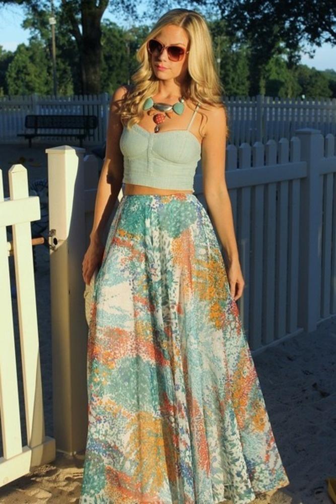 Adore maxi dress