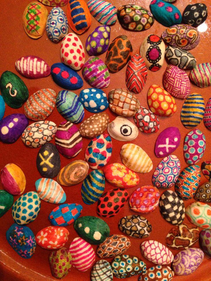 Painted Pistachio Shells Art Without Waste Pinterest