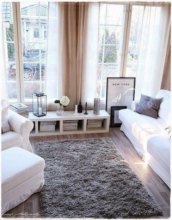 living inspiration zuhause deko landhaus gemütlich ecke wohnzimmer ... - Wohnzimmer Design Gemutlich