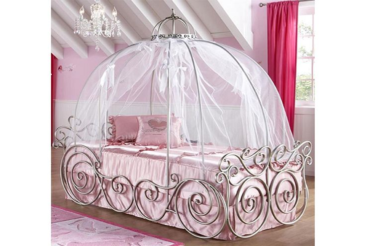 Carriage Bed Disney Princess And Twin On Pinterest