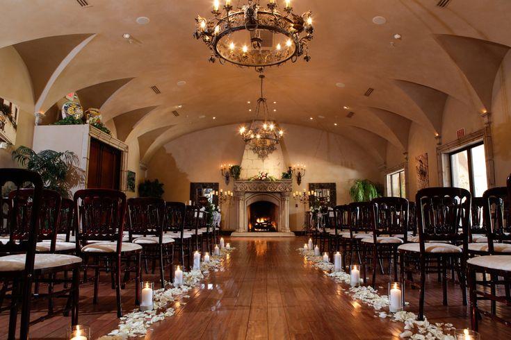 #Indoor #wedding #ceremony #gilbert #AZ #villa Siena
