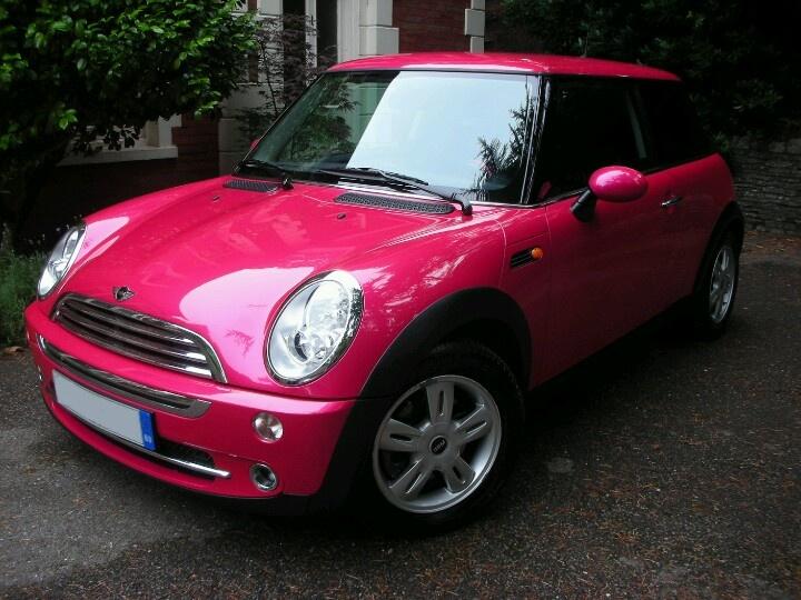 Hot Pink Mini Cooper Volkswagens Amp Mini Coopers