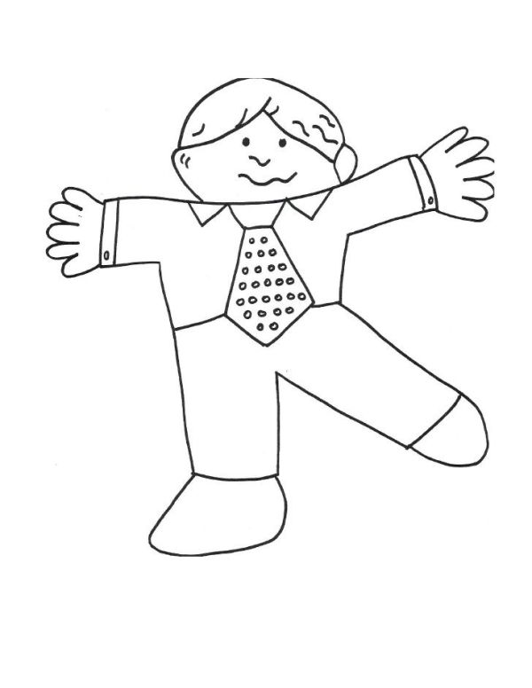 flat stanley coloring page # 40