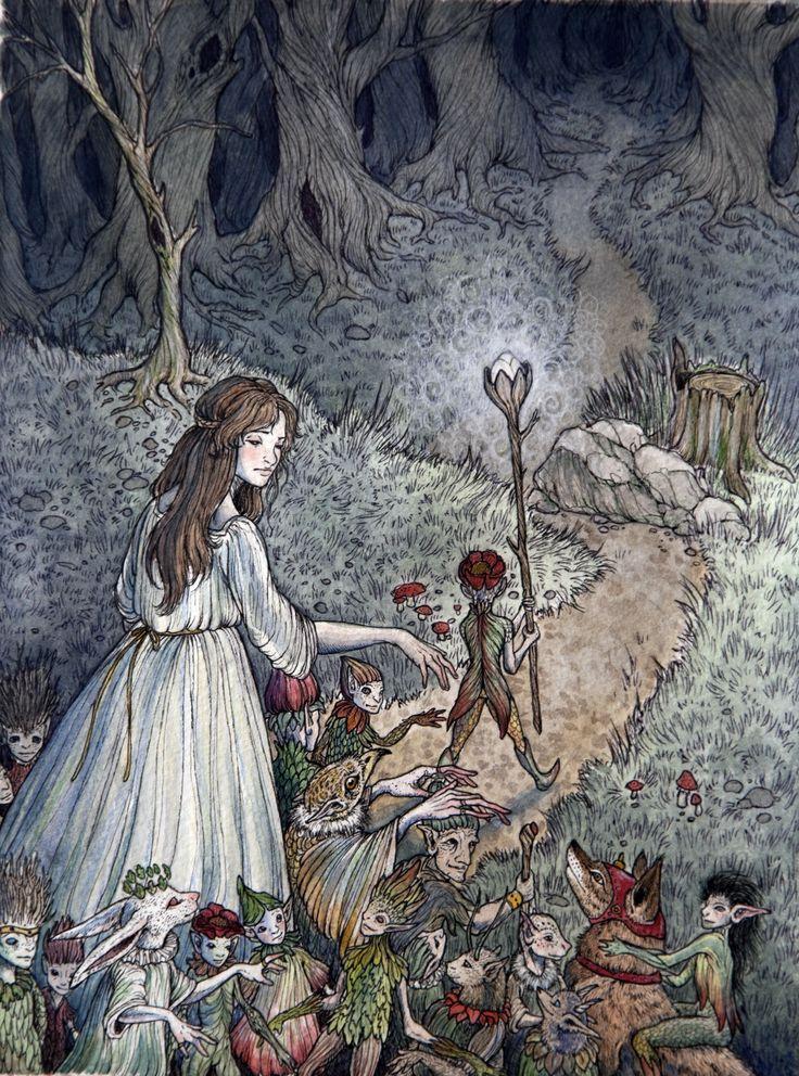 Fairy Nurse Original Illustration By Caitlin Hackett