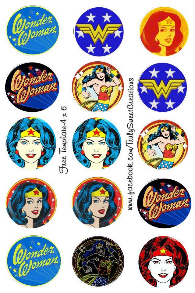 Wonder Woman bottle cap images bottlecap images