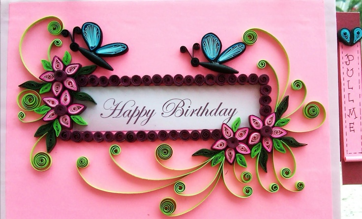 uniquely.handmade Quilling Pinterest Cards, Quilling