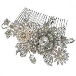 17 Best Images About Bridal Hair Combs On Pinterest Halo