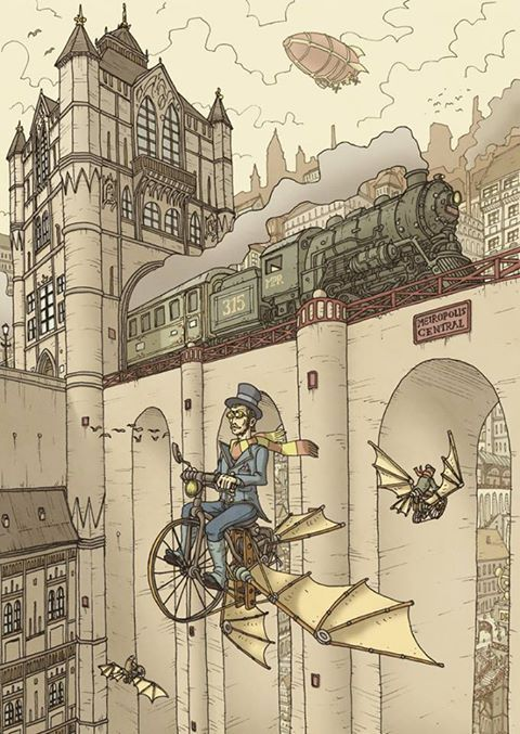 78 Images About Steam Punk IllustrationDesign Amp Art On