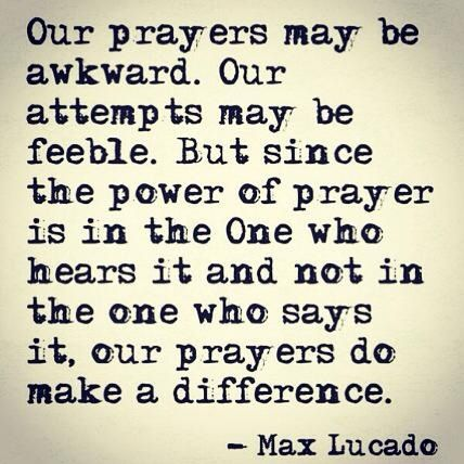 Prayer - Max Lucado