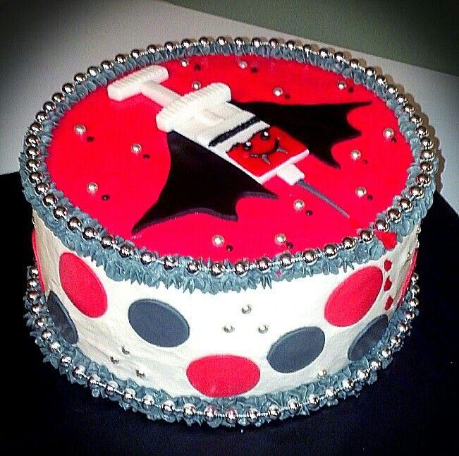 Birthday Cake For A Phlebotomist Cakes I Made Myself