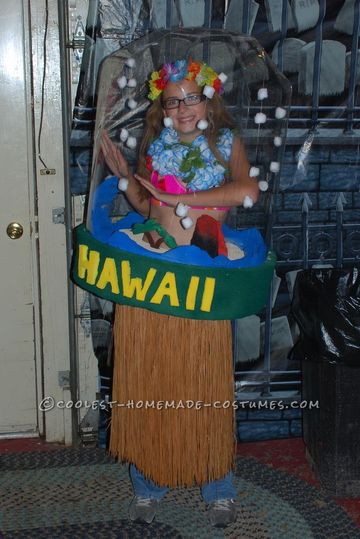 Aloha Baby Snow Globe Costume Designed and Made by a 7th