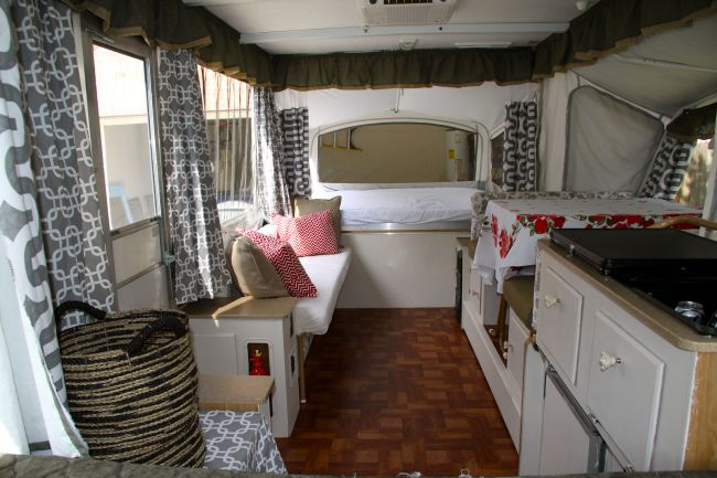 Super Cute Pop Up Camper Remodel Love The Story Behind It