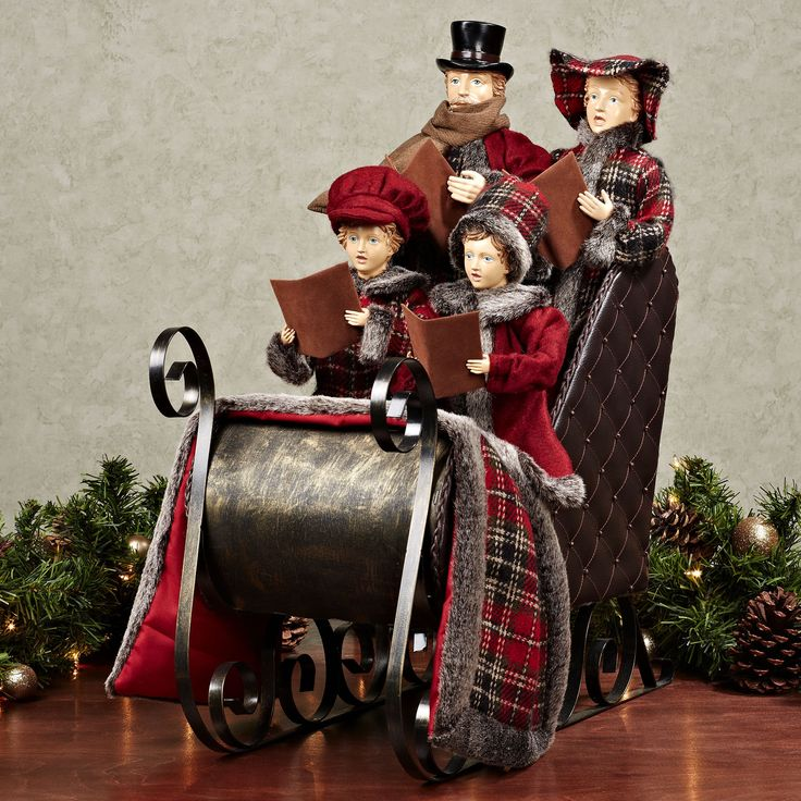 Victorian Carolers Figurines Victorian Carolers