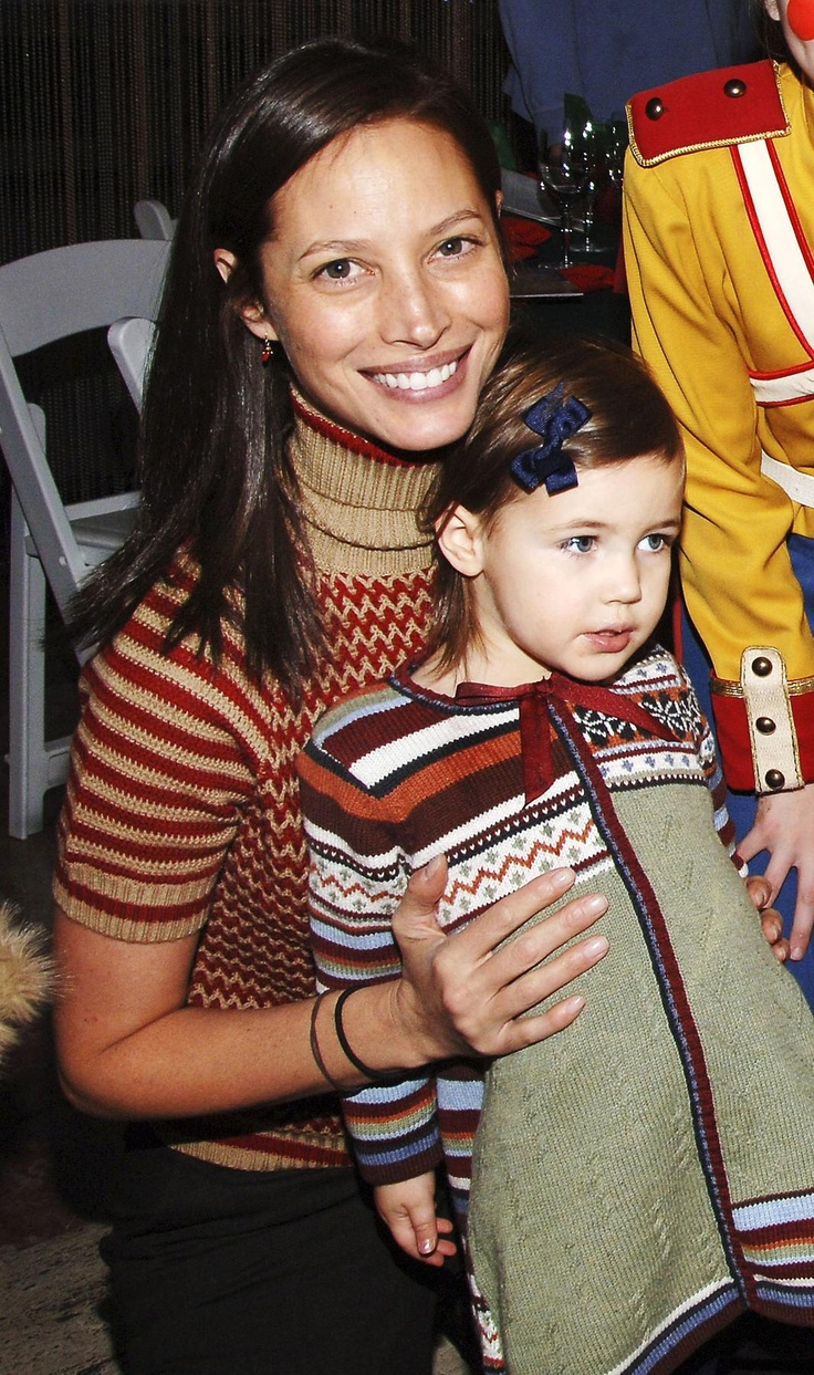 Christy Turlington December 9, 2006 Where With her