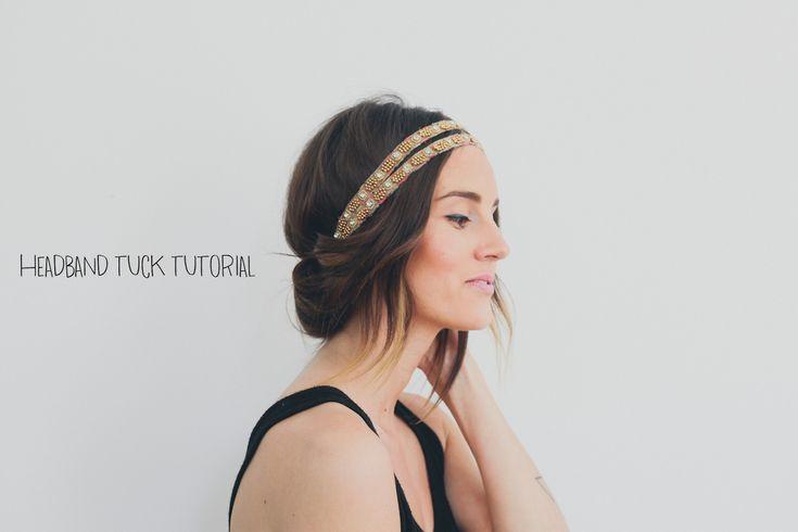 25 Best Ideas About Headband Tuck On Pinterest Headband