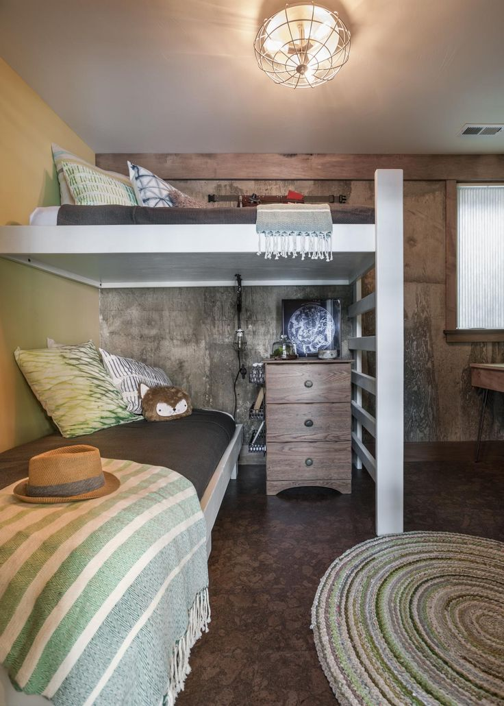 Kids Bunk Pictures From Diy Network Blog Cabin 2015