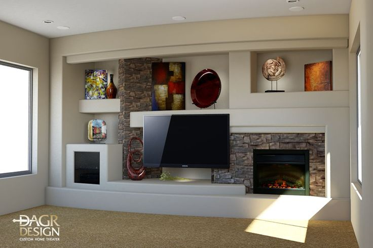25 Best Custom Entertainment Center Ideas On Pinterest Modern Family Style Man Cave Sony Tv