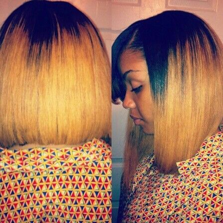 blonde bob quick weave hair pinterest follow me bobs and my hair