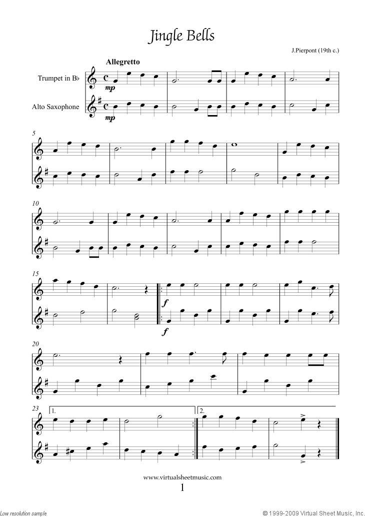 Alto saxophone music for beginners christmas christmas