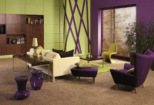 17 Best Images About Decor Ideas Purplish Living Room On