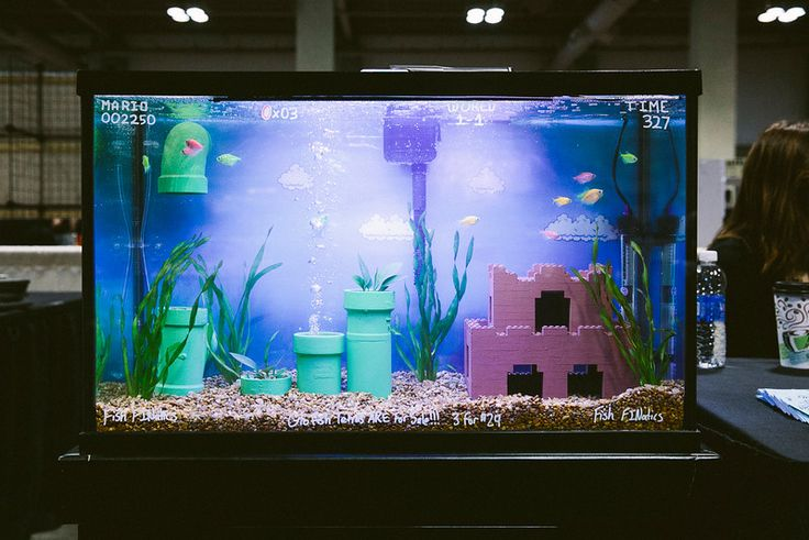 RetroGameCon 2014 Fish Finatics Malius NY Mario Black