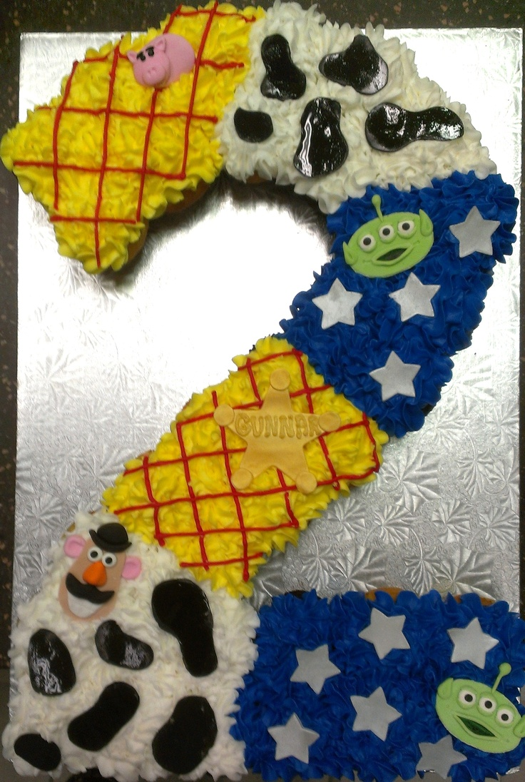 Toy Story Pull A Part Cupcake Cake Sugarush Red Bank