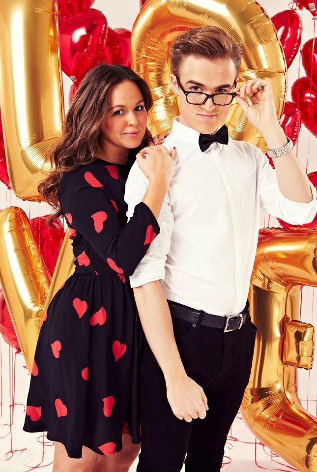 Tom and Giovanna Fletcher