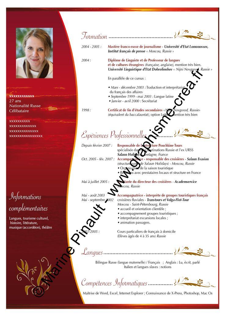 CV rouge http//graphismecrea.fr/images/CV/CV10.png