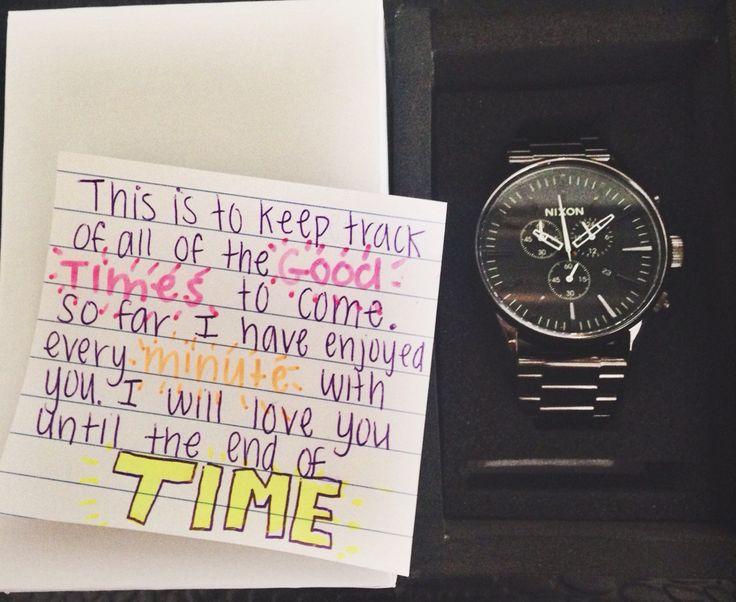 Boyfriend Watch Gift Idea Good Present For Boyfriend