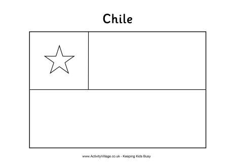 chile flag colouring pages and different flags on pinterest
