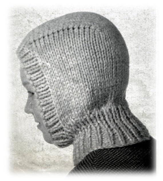 Knit Hat Free Pattern Balaclava